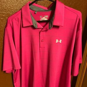 Under Armour Dry Fit Polo Shirt-XL
